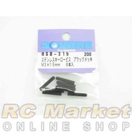 SQUARE HSB-315 Steel Set Screw M3x15mm