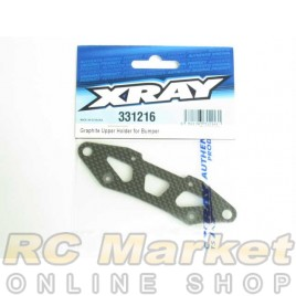 XRAY 331216 NT1 Graphite Upper Holder for Bumper