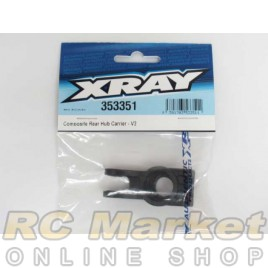 XRAY 353351 XB8 Composite Rear Hub Carrier - V2