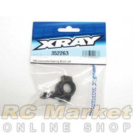 XRAY 352263 XB9 Composite Steering Block Left