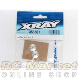 XRAY 353561 XB4 Alu Rear Wing Shim (2)
