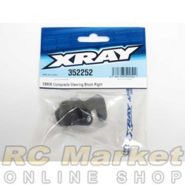 XRAY 352252 XB808 Composite Steering Block Right