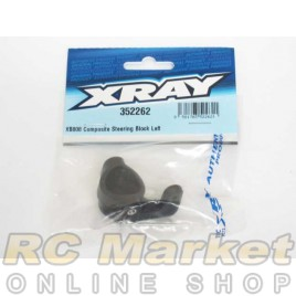 XRAY 352262 XB808 Composite Steering Block Left
