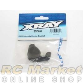 XRAY 352262 XB808 Composite Steering Block Left