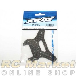 XRAY 353095 XB9 Graphite Rear Shock Tower 3.5mm