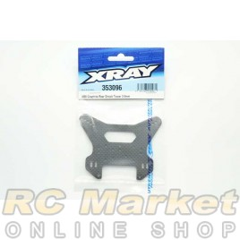XRAY 353096 XB8 Graphite Rear Shock Tower 3.5mm