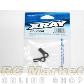 XRAY 352664 XB808 Composite Steering Ball Joint 6.8mm - V3 (2)