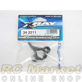 XRAY 342211 RX8 Composite Steering Block +1° King-Pin Right