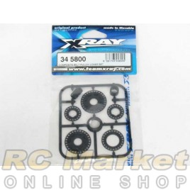 XRAY 345800 RX8 Composite Belt Pulley Cover Set