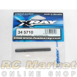 XRAY 345710 RX8 Front Middle Shaft - HUDY Spring Steel™