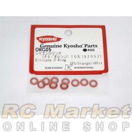 KYOSHO ORG05 Silicon O-ring (P5 / Orange)