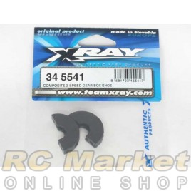XRAY 345541 RX8 Composite 2-Speed Gear Box Shoe