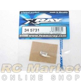 XRAY 345731 BX8 Alu Middle Shaft Locating Collar - Lightweight