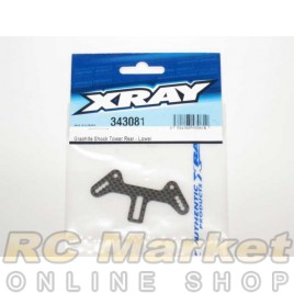 XRAY 343081 RX8 Graphite Shock Tower Rear - Lower