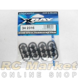 XRAY 342316 RX8 Composite Rear Upper Susp. Eccentric Bushing (4)