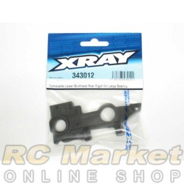 XRAY 343012 RX8 Composite Lower Bulkhead Rear Right for Large Bearing