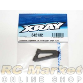 XRAY 342132 RX8 Composite Suspension Arm Front Upper - Short - Hard