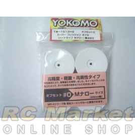 YOKOMO TW1012H2 Dish Wheel White 4pcs
