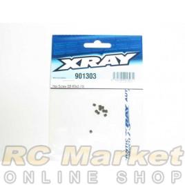 XRAY 901303 Hex Screw SB M3x3 (10)