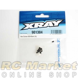 XRAY 901304 Hex Screw SB M3x4 (10)