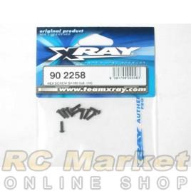 XRAY 902258 Hex Screw SH M2.5x8 (10)
