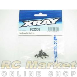 XRAY 902306 Hex Screw SH M3x6 (10)