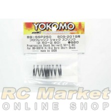YOKOMO B9-SSP250 Progressive Shock Spring (2.50~2.80) for BD9