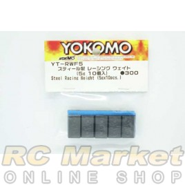 YOKOMO YT-RWF5 Steel Racing Weight (5g x 10pcs.)