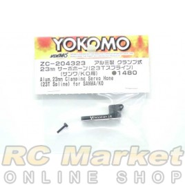 YOKOMO Aluminum 23mm Clamp Servo Horn (23T Spline) for Airtronics/KO