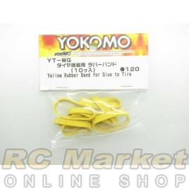 YOKOMO YT-WG Yellow Rubber Band for Glue To Tire