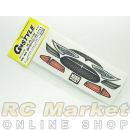 G-STYLE GA10130 Nobu Paint Breaking Light Decal Type 1 For Type-S