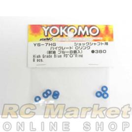 YOKOMO YS-7HG igh Grade P3 O Ring Blue 8 pcs