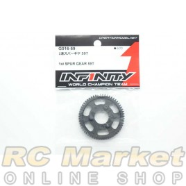 INFINITY G016-59 IF15 1st Spur Gear 59T