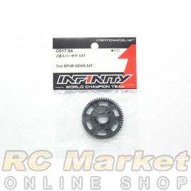 INFINITY G017-54 IF15 2nd Spur Gear 54T