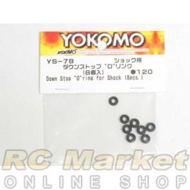 """YOKOMO Down Stop """"O"""" Ring for Shock (8pcs.)"""
