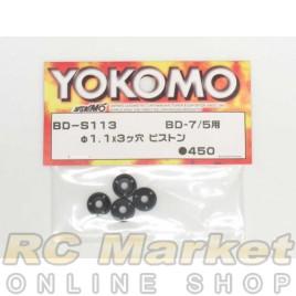 YOKOMO 1.1 X 3 Holes Piston for BD7/BD5