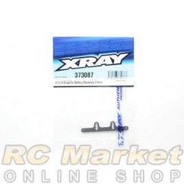 XRAY 373087 X12'19 Graphite Battery Backstop 2.0mm