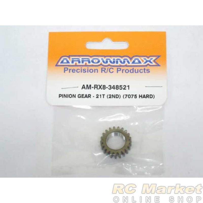 ARROWMAX RX8-348521 Pinion Gear - 21T  (2nd) (7075 Hard)