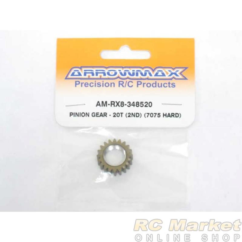 ARROWMAX RX8-348520 Pinion Gear - 20T (2nd) (7075 Hard)
