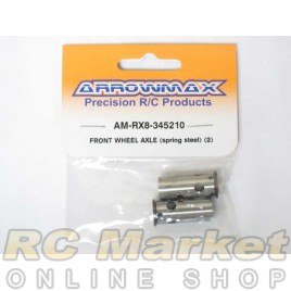 ARROWMAX RX8-345210 Front Wheel Axle (Spring Steel) (2)