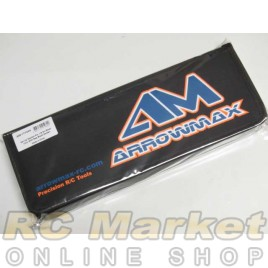 ARROWMAX 171044 Set-Up System For 1/8 On-Road Cars With Bag Black Golden