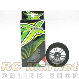 XCEED 101538 Ita-Tyre-Rim Carbon 30mm Black SH 32