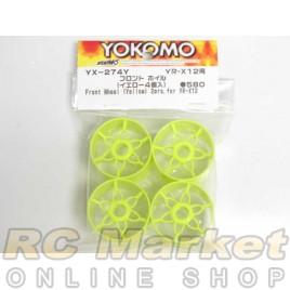 YOKOMO YX-274Y Front Wheel (Yellow)