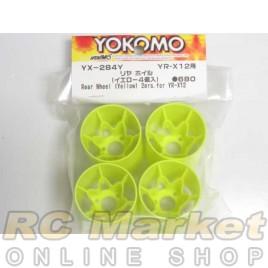YOKOMO YX-284Y Rear Wheel (Yellow)