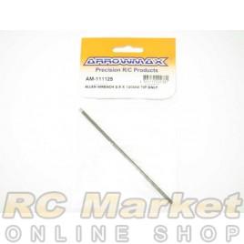 ARROWMAX 111125 Allen Wrench 2.5 X 120MM Tip Only