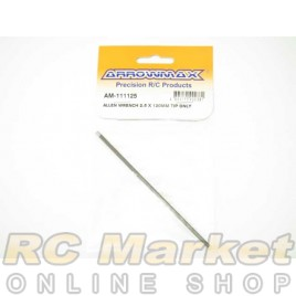 ARROWMAX 111125 Allen Wrench 2.5 X 120MM Tip Only