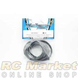 MUCH MORE MR-SPWK12 SPECTER Silver Coting Ultra High Efficiency Silicone Wire 12AWG Black 1m