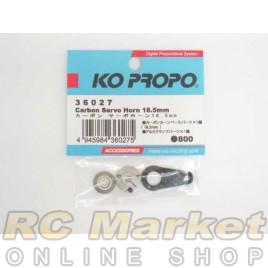 KO PROPO 36027 Carbon Servo Horn 18.5mm
