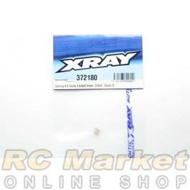 XRAY 372180 Spring 4.0 Coils 3.6x6x0.55mm, C=3.5 - Gold (2)