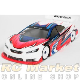 3Racing BDY-185HDW 185mm Lexan High Down force Wing for 1//10 Touring Car